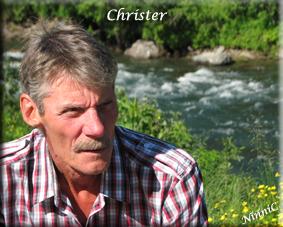 Min älskade Christer.