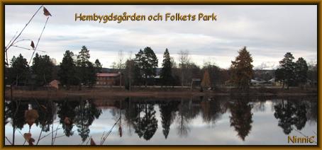 Hembygdsgården och Folkets Park i Ljusdal.
