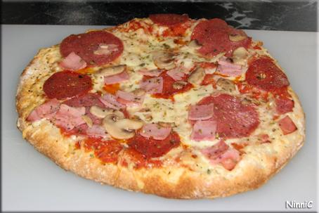 Färdig pizza