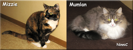 Mizzie och Mumlan.