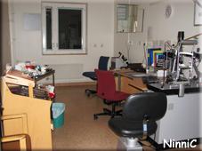Ögonläkarens arbetsrum.