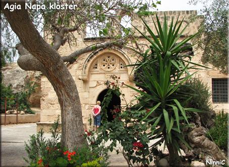 Agia Napa kloster.