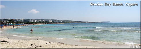 Grecian Bay Beach Cypern.
