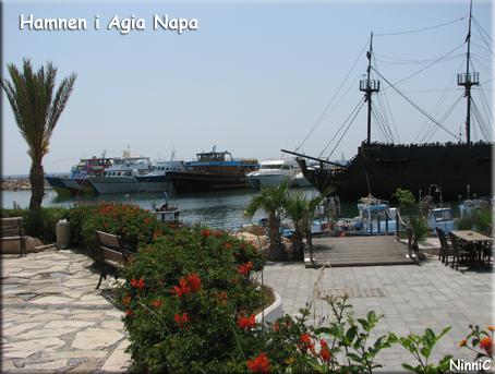 Hamnen i Agia Napa.