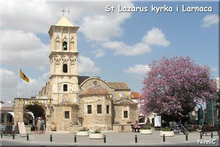 St Lazarus kyrka i Larnaca.