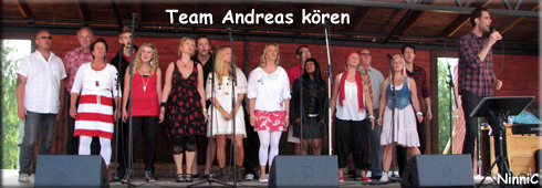 Team Andreas kören.