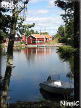 110808 Spegelblankt vatten vid Kuggören.