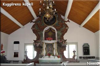 110808 Kuggörens kapell inuti.