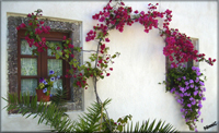Santorini - Vackert hus i Panagia Episkopi