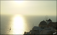 Santorini - Solnedgång i Oia