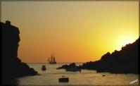 Santorini - Solnedgång