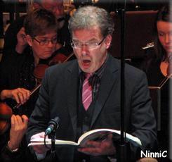 Solist Olle Persson, baryton, i Carmina Burana.