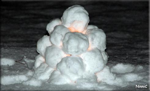 Vinterns första snölykta.