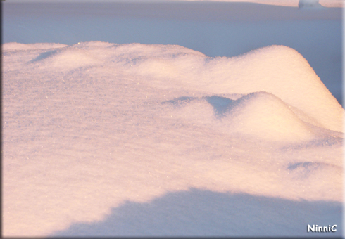 120124 Snö är vackert.