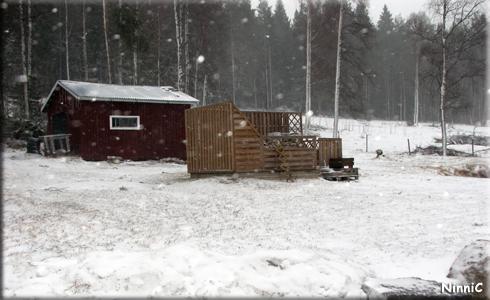 120319 Bakslag på vårvädret den 19/3.