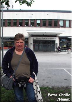120607 Jag vid St Eriks ögonsjukhus.