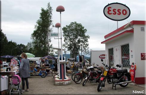 120707 Essomacken i Lörstrand.