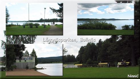 120718 Långnäsparken i Bollnäs.