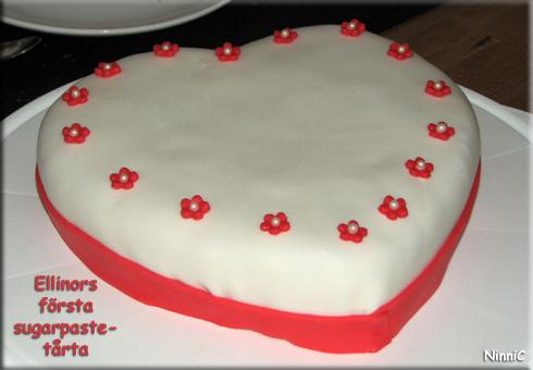 120804 Ellinors sugarpaste-tårta.