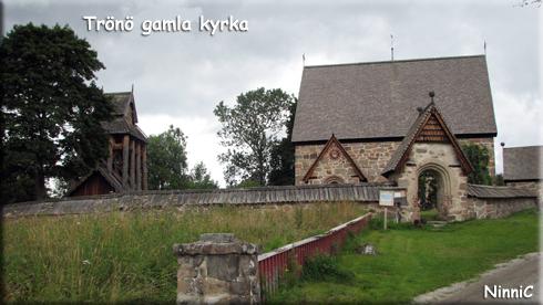120813 Trönö gamla kyrka.