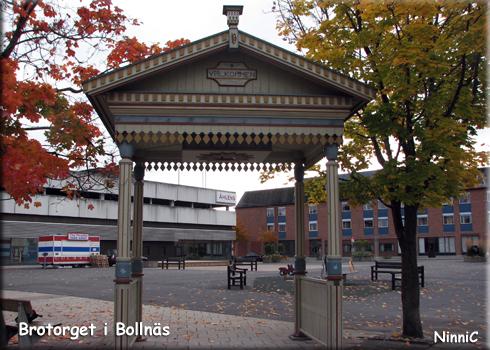 121010 Brotorget i Bollnäs.