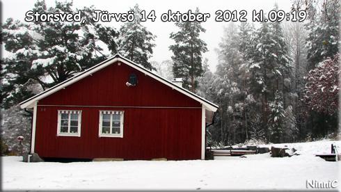 121014 Första snön.