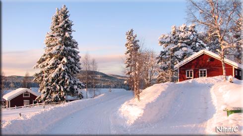 121202 Mycket snö har det kommit.