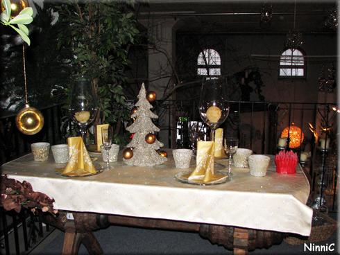 121211 Løiten Lys - Juldukning enkel och vacker.