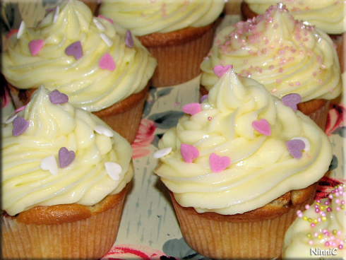 130119 Cupcakes gjorda av Ellinor.