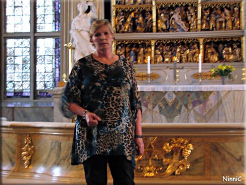 130414 Annika Östberg föreläser i Ljusdals kyrka