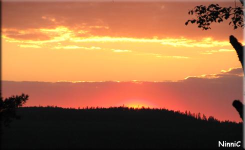130528 Åh dessa underbara solnedgångar...