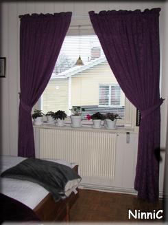 Sovrumsfönstret.
