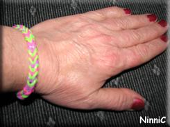 151031 Det fina armbandet jag fick av Tim.