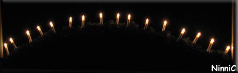 151129 Ljusbågen på kvällen