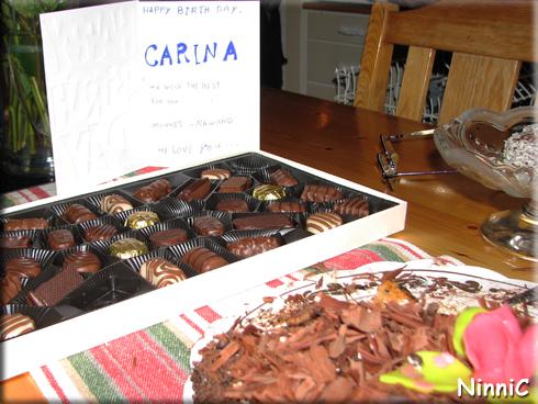 151213 Tårta och choklad.