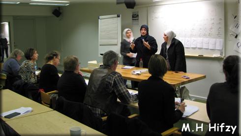 160125 Lektion i arabiska