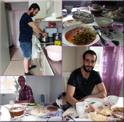170715 På middag hos Fouad