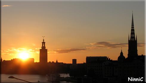 170715 Solnedgång