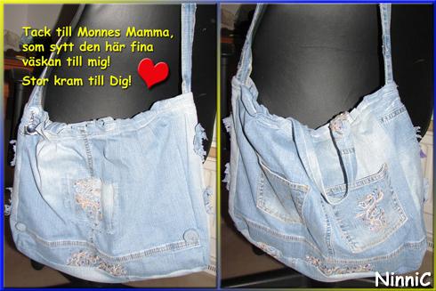 171013 Jeansväskan från Monnes mamma