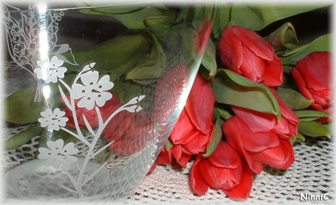 Tulpaner och skål