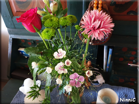 Fina blommor från Thomas