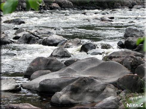 Slipade stenar vid Vinströmmarna