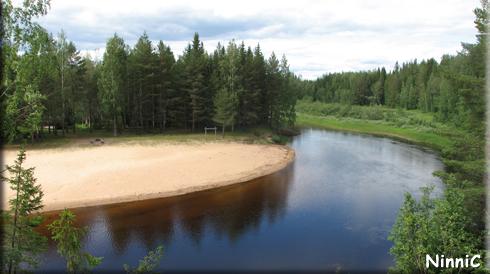 Frostkilens badplats