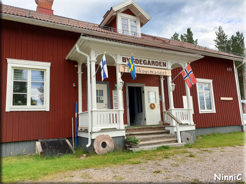 Bygdegården - Finnskogsmuseet i Skräddrabo