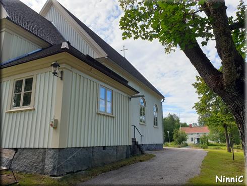 S:t Staffans kyrka och prästgård i Gruvberget