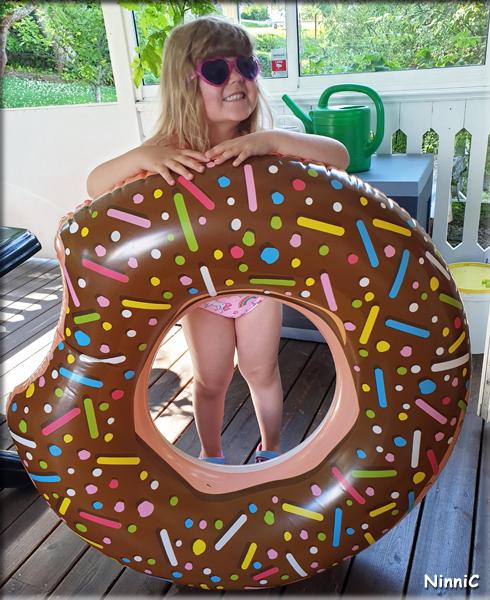 Vilja med donut-ringen