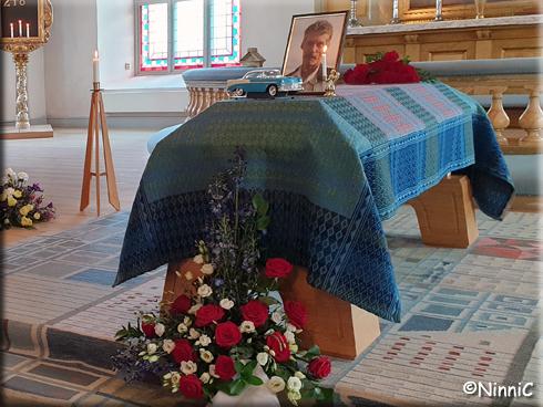 Från Christers begravningsgudstjänst